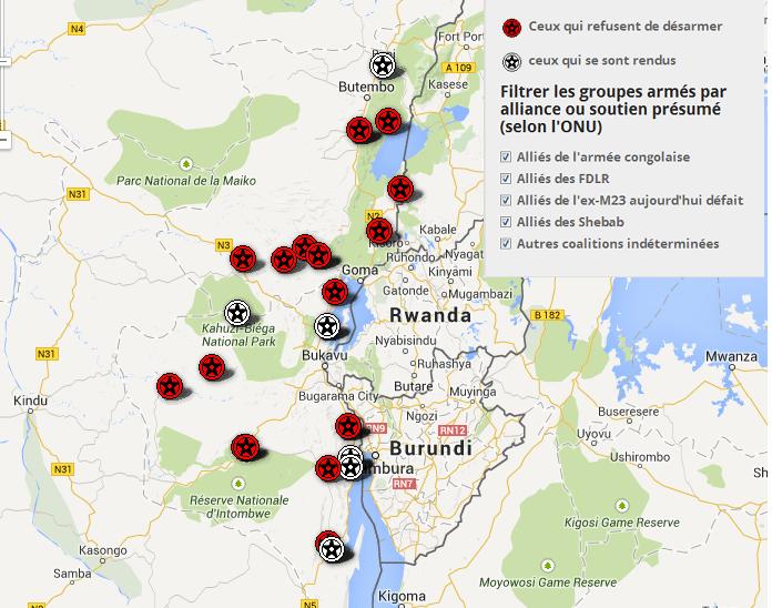 #Flash-Urgent: Affrontements en cours entre FARDC et présumés ADF