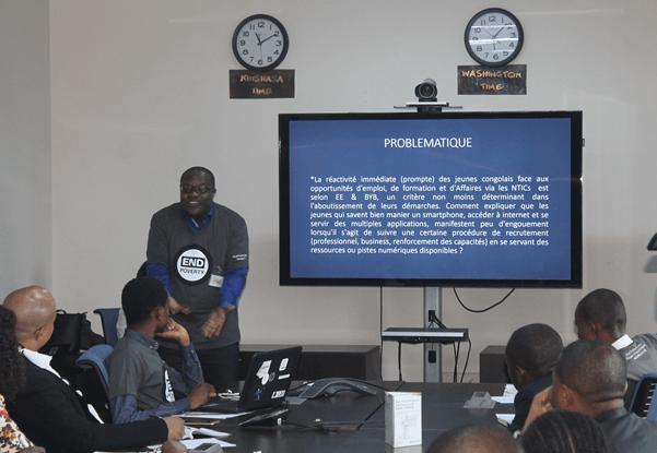 RDC : La Banque mondiale encourage les jeunes à recourir au numérique pour créer des emplois