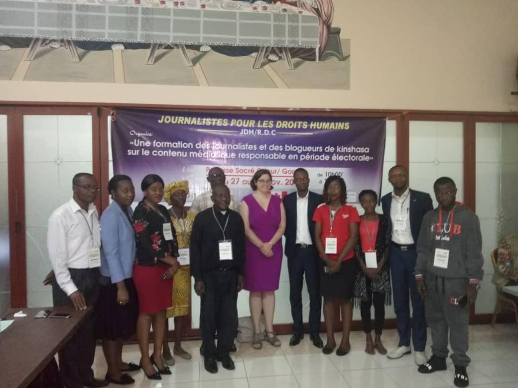 Kinshasa : le contenu médiatique en période électorale au cœur d'une formation des journalistes et blogueurs