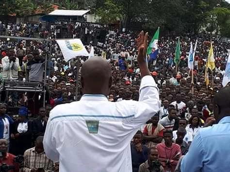Goma : Martin Fayulu prêche la paix et exige la vérité des urnes
