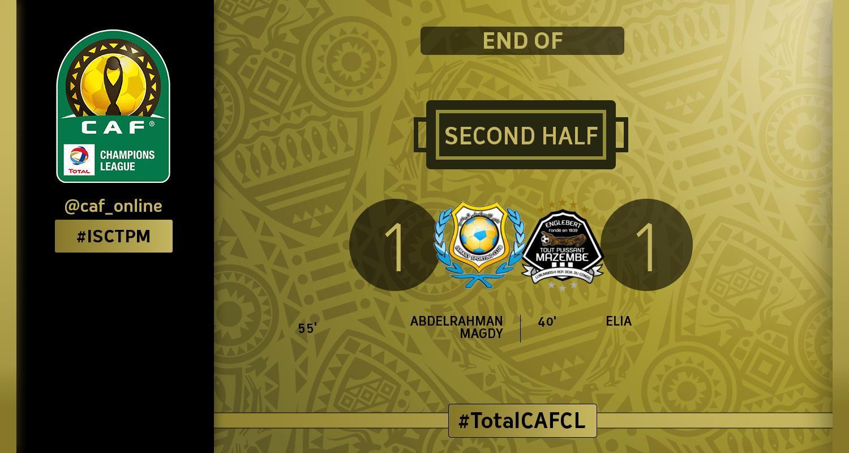 CAF-C1: TP Mazembe contraint à un match nul par Ismaily