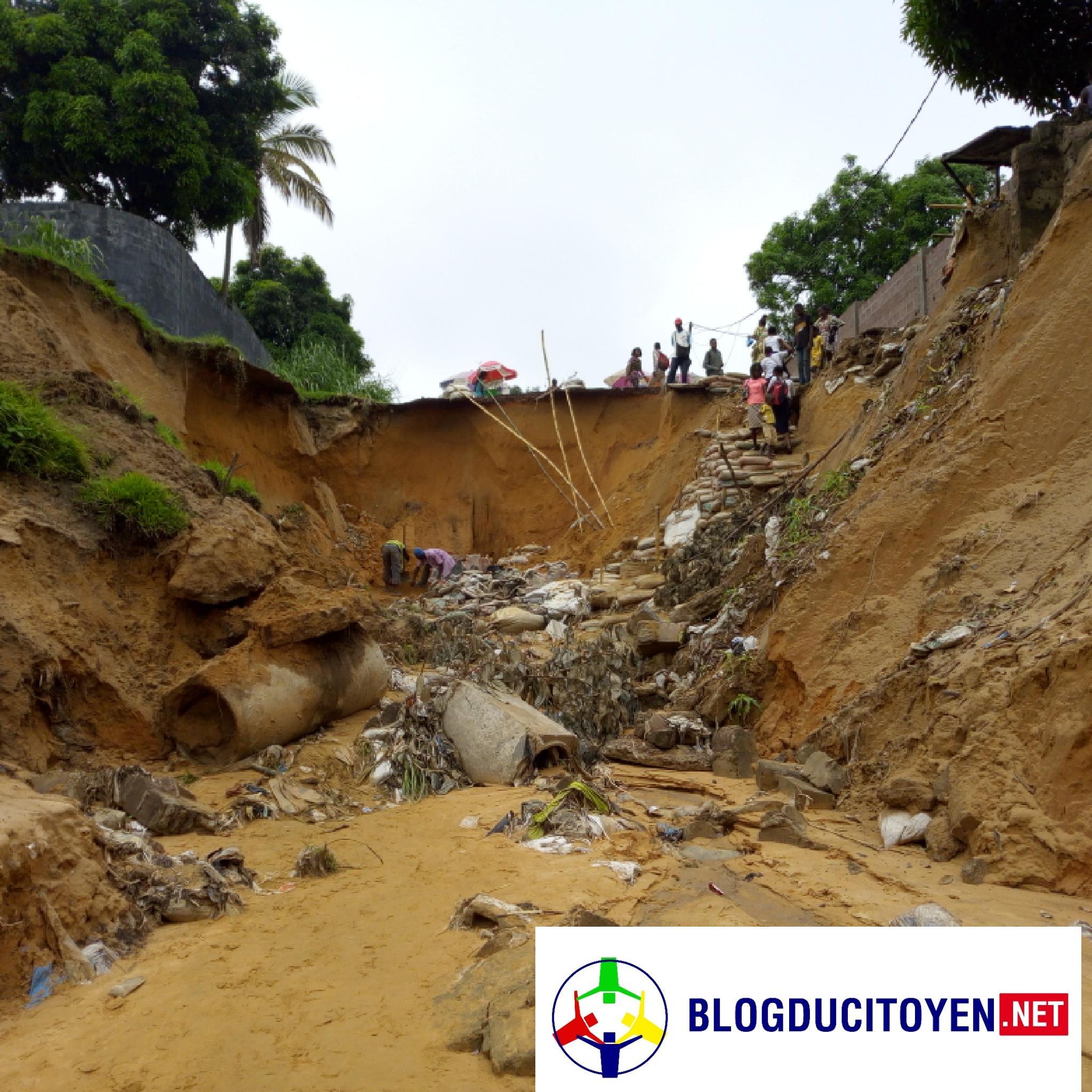 Kinshasa : À quand la réhabilitation de la route de Kimwenza, dévisagée par des érosions?