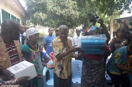 Kinshasa : Angel Cosmetics visite 3.987 ménages victimes des pluies diluviennes