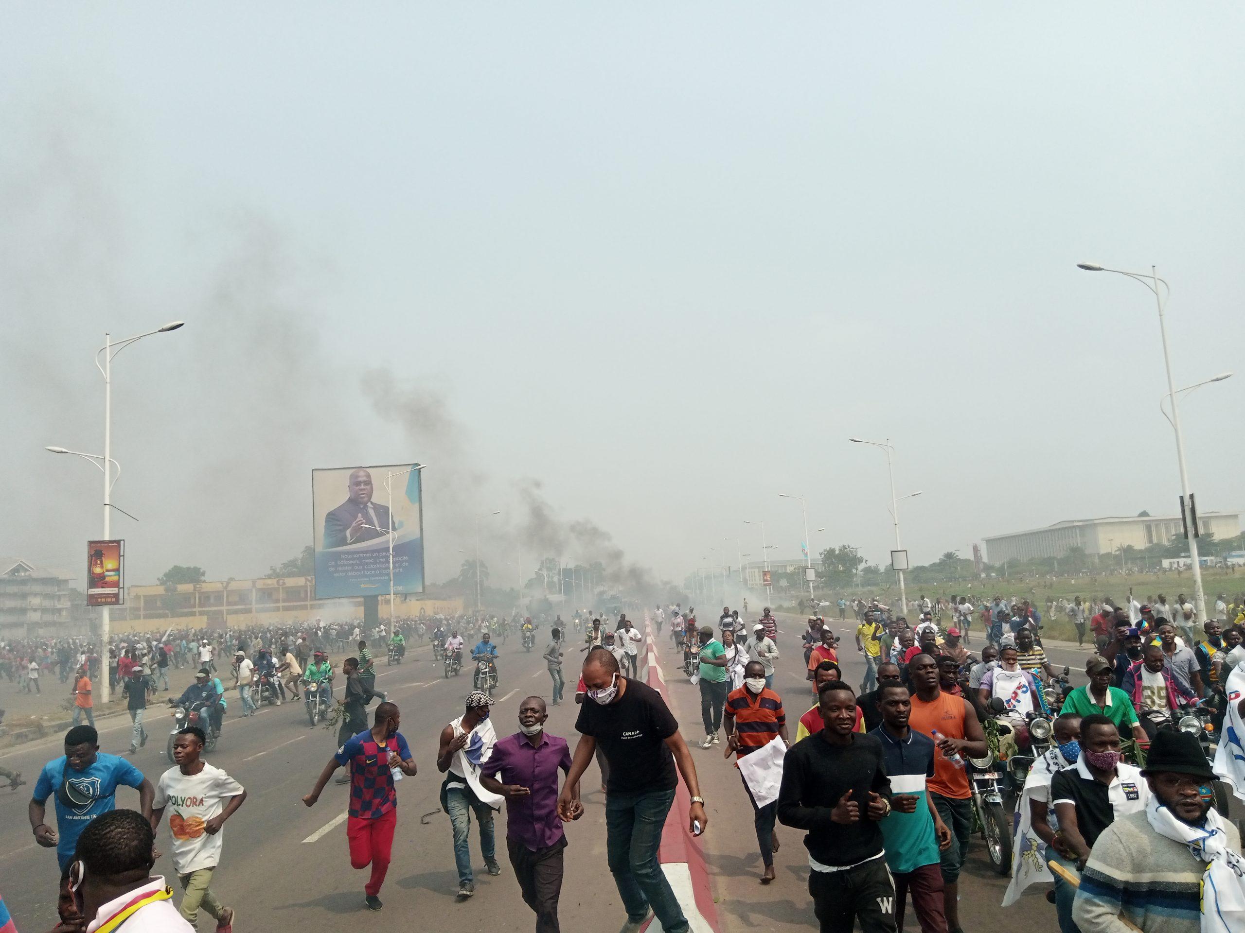 Kinshasa : D'une marche pacifique aux affrontements