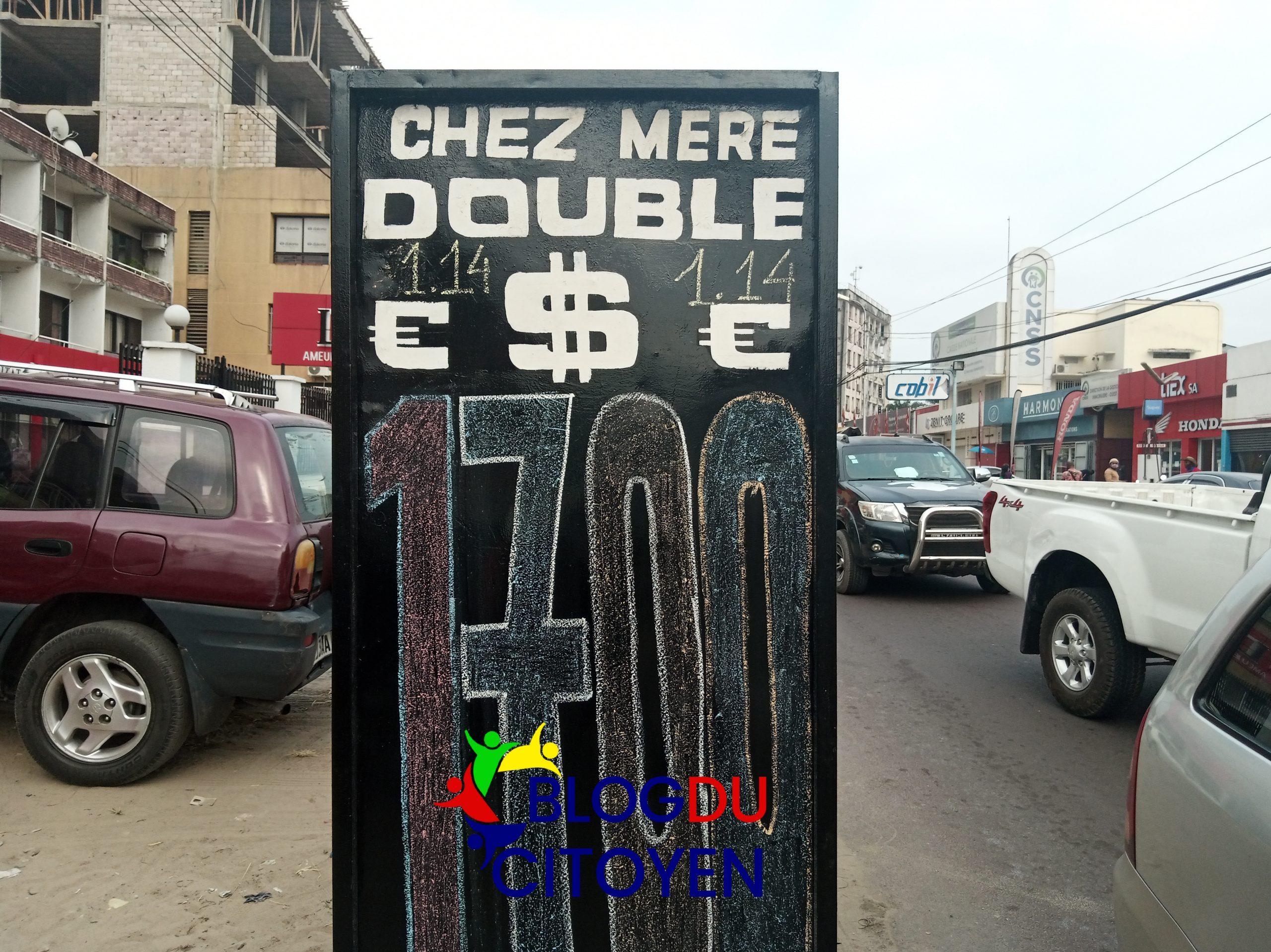 Économie : La situation du taux de change de ce matin à Kinshasa