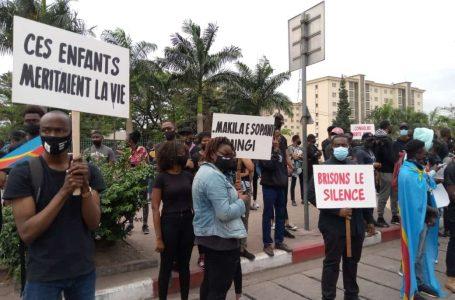 Kinshasa : Des jeunes manifestent pour la fin de l'insécurité dans l'Est