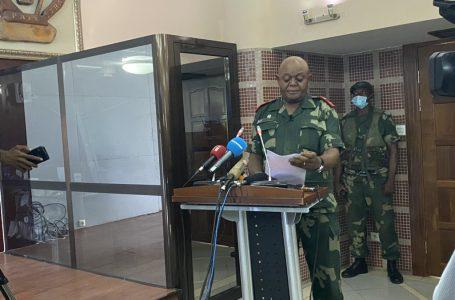 RDC : Richard Kasonga appelle tous les militaires à demeurer unis, disciplinés, vigilants derrière le Commandant Suprême