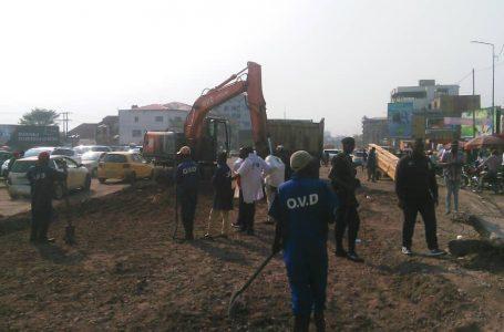 Kinshasa : Début des travaux de réhabilitation de l'avenue des huileries