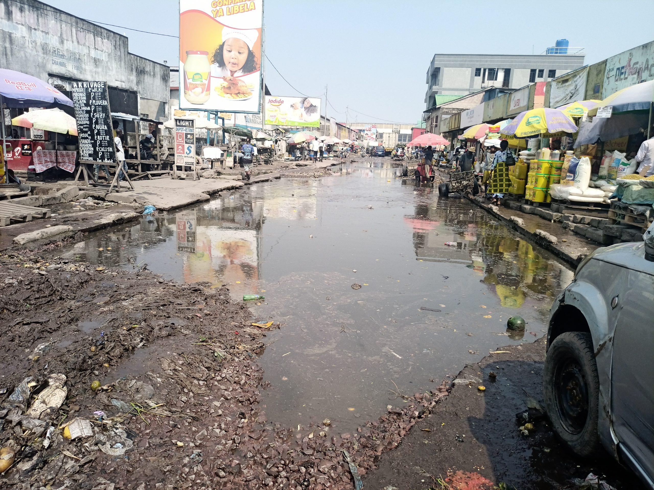 Kinshasa : Réhabilitation de l'avenue Dima, un chantier abandonné