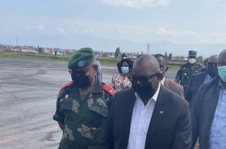 Goma : Sama Lukonde est heureux d'apporter un message de soutien