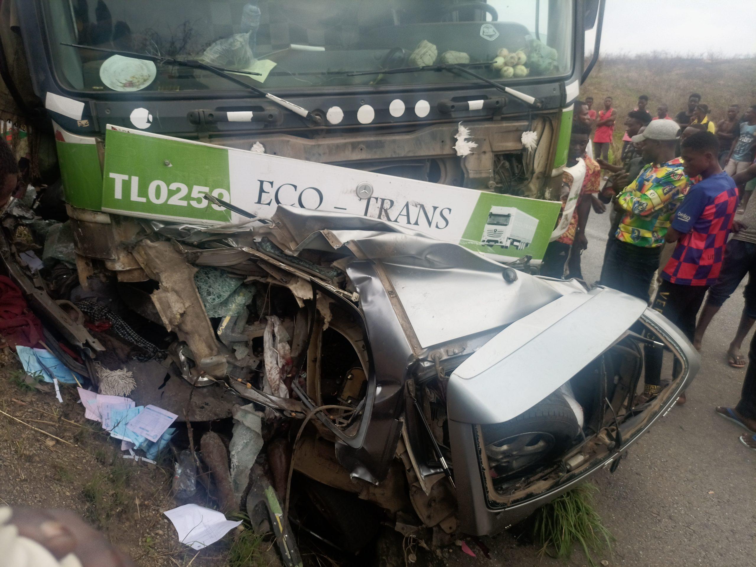 RDC/ Kongo Central : Accident mortel sur la nationale N°1